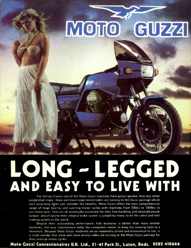 Image result for 1980 Moto Guzzi 1000sp rider